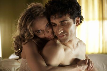 "Adoration ""Rachel (Rachel Blanchard) and Sami (Noam Jenkins) in their bedroom."" Photo: Sophie Giraud. ©  Productions. Courtesy of Sony Pictures Classics. All Rights Reserved."