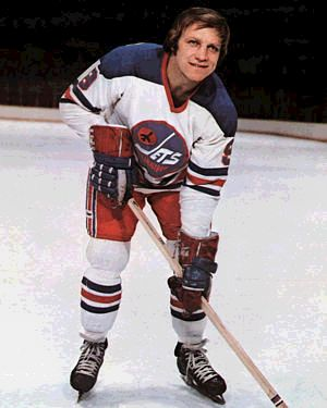 Bobby Hull Bobby with Winnipeg Jets 1972