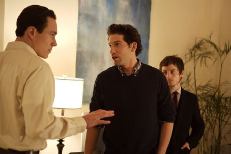 Day Zero Chris Klein as George Rifkin and Jon Bernthal as James Dixon in First Look International '.'
