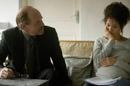 Will Patton Randall Bennett () and Mariane (Angelina Jolie) in Michael Winterbottom's A MIGHTY HEART. Photo By: Peter Mountain.