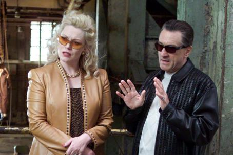 Cathy Moriarty  and Robert De Niro in Warner Brothers' Analyze That - 2002