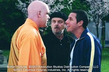 John C. Reilly , Jack Nicholson and Adam Sandler in Columbia's Anger Management - 2003