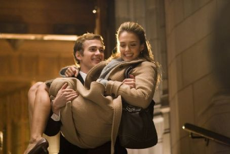 Awake Hayden Christensen star as Clay and Jessica Alba as Sam in  - 2006