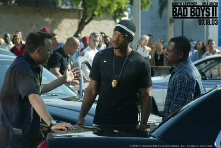 Bad Boys II Will Smith and Martin Lawrence in Columbia's  - 2003