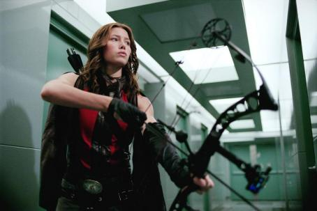 "Abigail Whistler Jessica Biel stars as Whistler's daughter ""Abigail"" in the final chapter of New Line Cinema's BLADE franchise, BLADE: TRINITY."