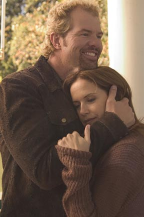 Toby Keith  as Bo Price and Lindsey Haun as Dixie Deetan in Paramount Pictures', Broken Bridges - 2006
