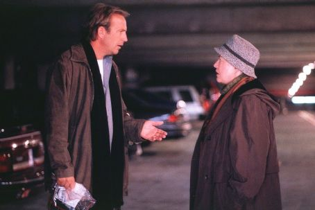 Dragonfly Kevin Costner and Kathy Bates in Universal's  - 2002