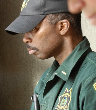 Felon Harold Perrineau star as Lt. Jackson in drama crime '.'