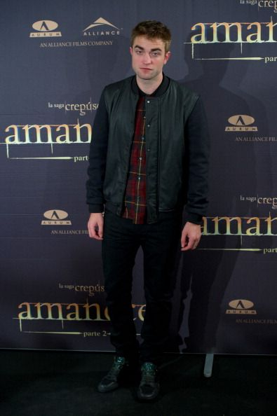 Robert Pattinson's Madrid Photocall