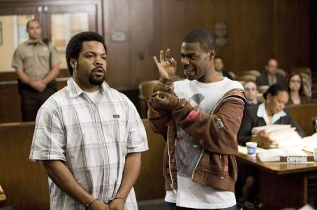 Tracy Morgan Ice Cube (left) and  star in Screen Gems' FIRST SUNDAY. Photo by: Tony Rivetti Jr. © 2007 Screen Gems, Inc. All Rights Reserved.