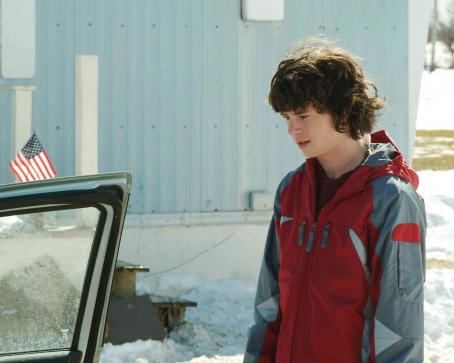 Frozen River Charlie McDermott as TJ Eddy. Photos by Jory Sutton © 2007  Productions, LLC.  Courtesy Sony Pictures Classics.