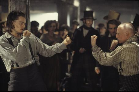 Gangs of New York Leonardo DiCaprio and Gary Lewis in Miramax's  - 2002