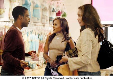 I Think I Love My Wife From left: Chris Rock, Kerry Washington and Gina Torres in I THINK I LOVE MY WIFE. Photo Credit: Phil Caruso