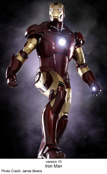 Tony Stark Iron Man in the scene of Paramount Pictures' Iron Man