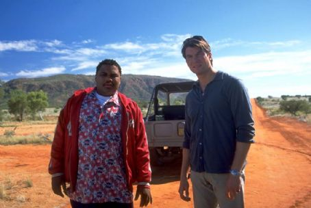 Anthony Anderson  and Jerry O'Connell in Castle Rock Entertainment's family action adventure comedy, 'Kangaroo Jack,' distributed by Warner Bros. Pictures.