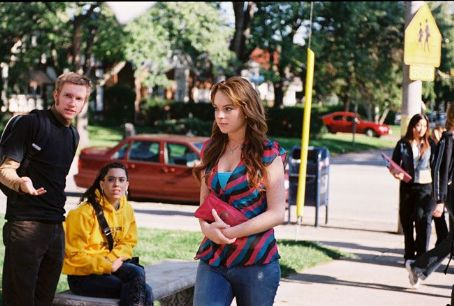 Mean Girls Lindsay Lohan as Cady Heron in  - 2004