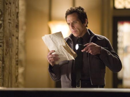 Night at the Museum Ben Stiller as Larry in  - 2006
