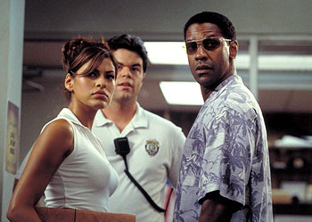 Out of Time Eva Mendes and Denzel Washington in MGM's Out Of Time - 2003