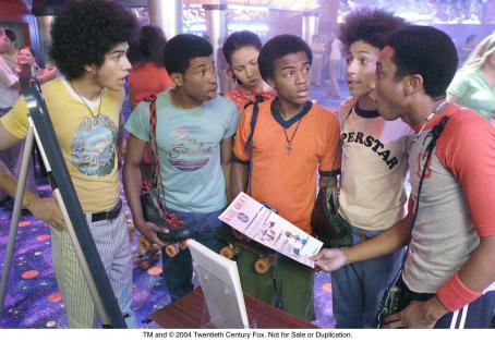 Brandon T. Jackson Rick Gonzalez, Marcus T. Paulk, Jurnee Smollett, Bow Wow, Khleo Thomas and  in the forthcoming drama from Fox Searchlight, Roll Bounce.