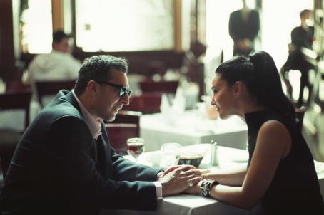John Turturro  as Don Angelo (left), Monica Bellucci as Simona