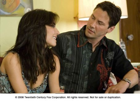 Street Kings From left: Martha Higareda and Keanu Reeves in STREET KINGS.