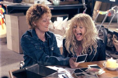 The Banger Sisters Susan Sarandon and Goldie Hawn in Fox Searchlight's  - 2002