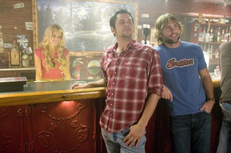 Daisy Duke L-r: JESSICA SIMPSON as , JOHNNY KNOXVILLE as Luke Duke and SEANN WILLIAM SCOTT as Bo Duke star in Warner Bros. Pictures' and Village Roadshow Pictures' action comedy 'The Dukes of Hazzard,' distributed by Warner Bros. Pictures.
