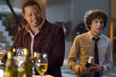 Jesse Eisenberg Terrence Howard and  star in Richard Shepard's The Hunting Party. Courtesy of The Weinstein Company, 2007/Karen Ballard