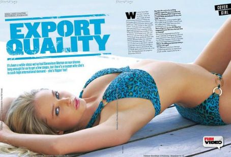 Genevieve Morton  FHM South Africa March 2011