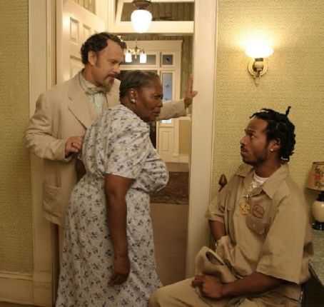 The Ladykillers Tom Hanks, Irma P. Hall and Marlon Wayans in  - 2004