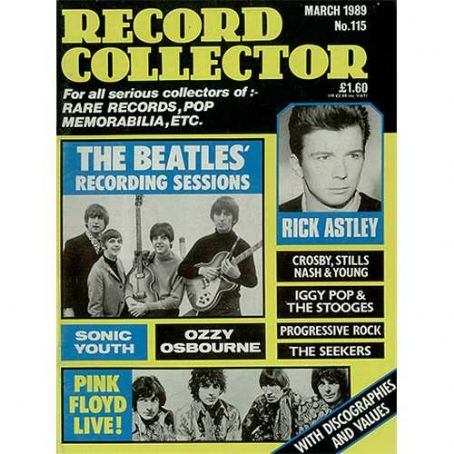 John Lennon - Record Collector Magazine [United Kingdom] (March 1989)