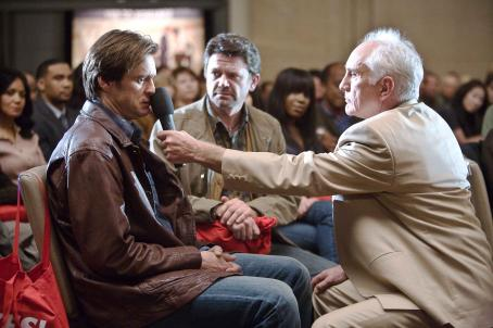 Terence Stamp JIM CARREY as Carl, JOHN MICHAEL HIGGINS as Nick and TERENCE STAMP as Terrence in Warner Bros. Pictures' and Village Roadshow's comedy 'Yes Man,' distributed by Warner Bros. Pictures. Photo by Melissa Moseley.