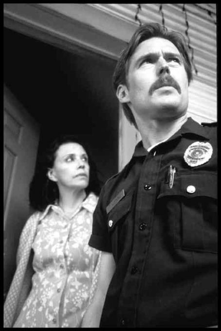 Bill Sage Irene Pena as Carla and  as Officer Ted Morning in EvenHand.