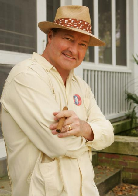 Randy Quaid  as 'Colonel' Tom Parker in CBS Television's drama movie Elvis.