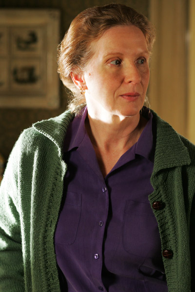 Six Feet Under Frances Conroy as Ruth Fisher Sibley in drama movie : Fifth Season distributed by HBO.