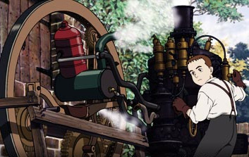 Steamboy Ray Steam (voiced by Anna Paquin) in Sony Pictures