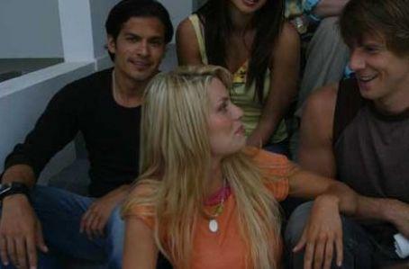 Nicholas Gonzalez  as Jack, Nichole Hiltz as Samantha and Eric Mabius as Danny in Venice Underground.