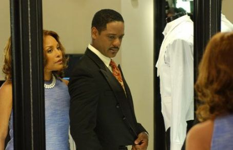 Lynn Whitfield Victoria () and Carlos (Blair Underwood)