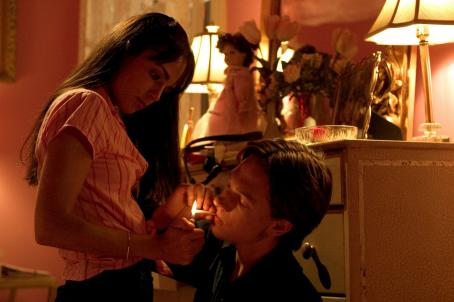 Nearing Grace Jordana Brewster star as Grace and Gregory Smith as Henry in drama movies',  - 2006