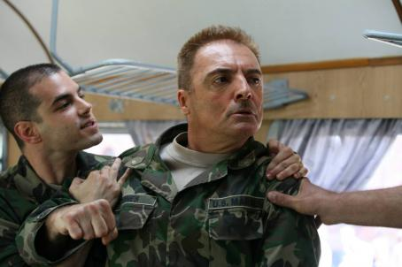 Armand Assante Jamie Elman as Sg. David McLaren and  as Cpt. Doug Jones in IFC Films' California Dreamin'