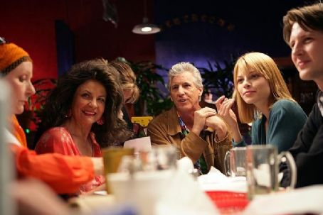 Gabriel Mann Mary's family feasting on Tex-Mex