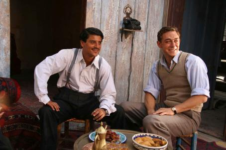 O Jerusalem Said Taghmaoui as Said Chahine and JJ Feild as Bobby Goldman in O JERUSALEM. Copyright © 2006 Samuel Goldwyn Films. All rights reserved.