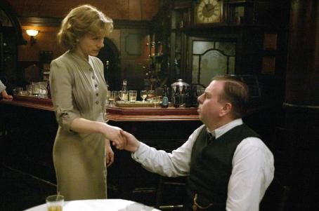 "Juliet Stevenson From Left to Right:  (""Annie Pierrepoint"") and Timothy Spall (""Albert Pierrepoint"") in a scene from PIERREPOINT directed by Adrian Shergold. An IFC Films release."