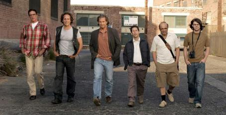 Tim Blake Nelson L to R: Ted Danson, William Fichtner, Jeff Bridges, , Joe Pantoliano and Patrick Fugit in the scene of Newmarket Films' The Amateurs.