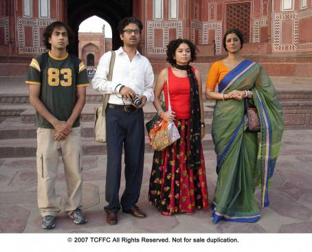 Tabu From left: Kal Penn, Irrfan Khan, Sahira Nair and  in THE NAMESAKE. Photo Credit: Mira Nair