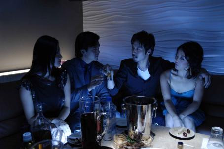 John Cho Jane Kim as Suki Kim,  as John Kim, Jun Sung Kim as Mike Juhn and Elena Chang as Miyun in West 32nd.
