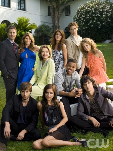 Jessica Walter '90210' Pictured: (Front row l-r) Ryan Eggold as Ryan, Jessica Stroup as Silver, Michael Steger as Navid; (Middle Row l-r)  as Tabitha, Tristan Wilds as Dixon, AnnaLynne McCord as Naomi; (Back row l-r) Rob Estes as Harry, Lori Loughl