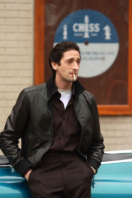 Leonard Chess Adrien Brody as '' in Sony BMG Film, Parkwood Pictures and Tristar Pictures' drama CADILLAC RECORDS. Photo credit: Eric Liebowitz. © 2008 Sony BMG Film. All rights reserved.
