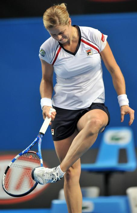Kim Clijsters - Day 5 Of The Australian Open, 22 January 2010