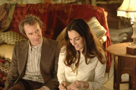 Stephen Dillane  (as Jakob) and Ayelet Zurer (as Michaela) in FUGITIVE PIECES. Photo Credit: Alex Dukay